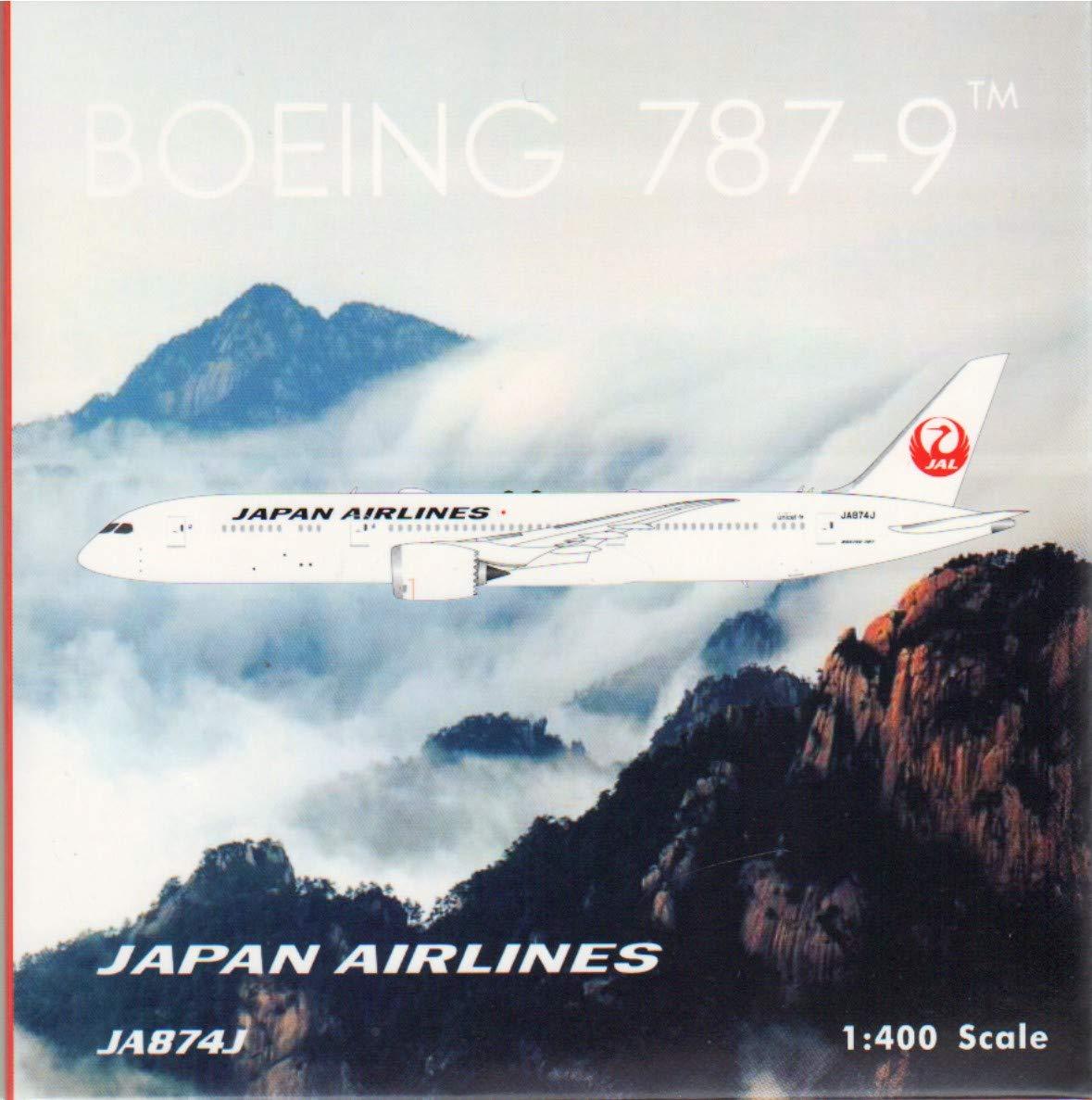 新しい到着 フェニックスモデル PHX04226 1:400 日本航空787-9 Reg #JA874J (塗装済み/組み立て済み) 日本航空787-9 Reg 1:400 B07KF127YB, 稲田布帛:7cdad73b --- wap.milksoft.com.br