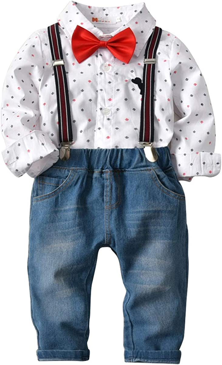 For 0-5 Years old Baby,DIGOOD Kids Toddler Newborn Baby Boys Girls Letter Print Tops Cross Pants Set Suit Clothes
