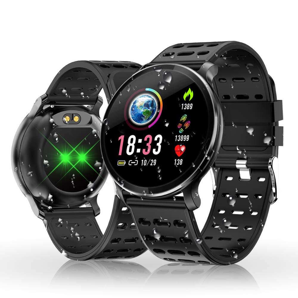 Reloj Inteligente, HOLALEI Smartwatch Pulsera Inteligente Impermeable IP68 Pantalla Color Podómetro con Pulsómetro, Monitor de Calorías, Sueño para Android y iOS product image