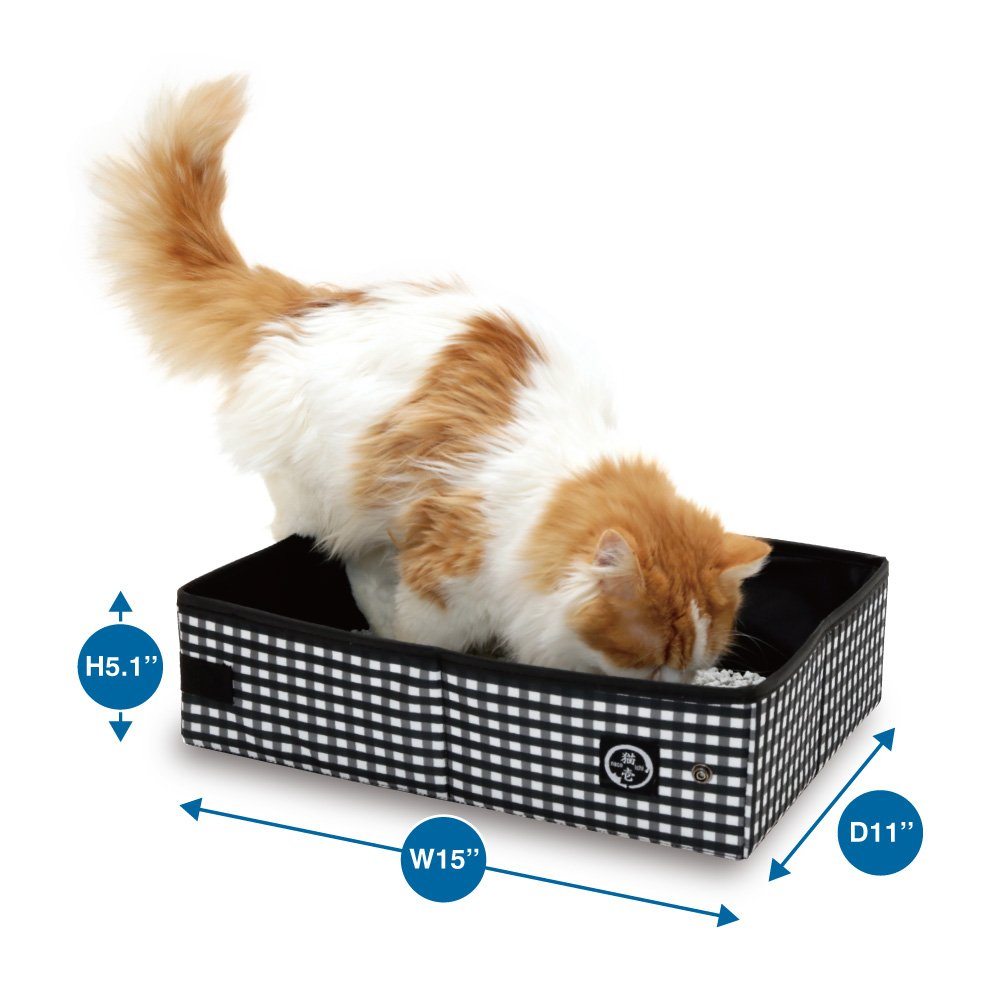 Necoichi Portable Stress Free Cat Cage and Litter Box Set by Necoichi (Image #1)