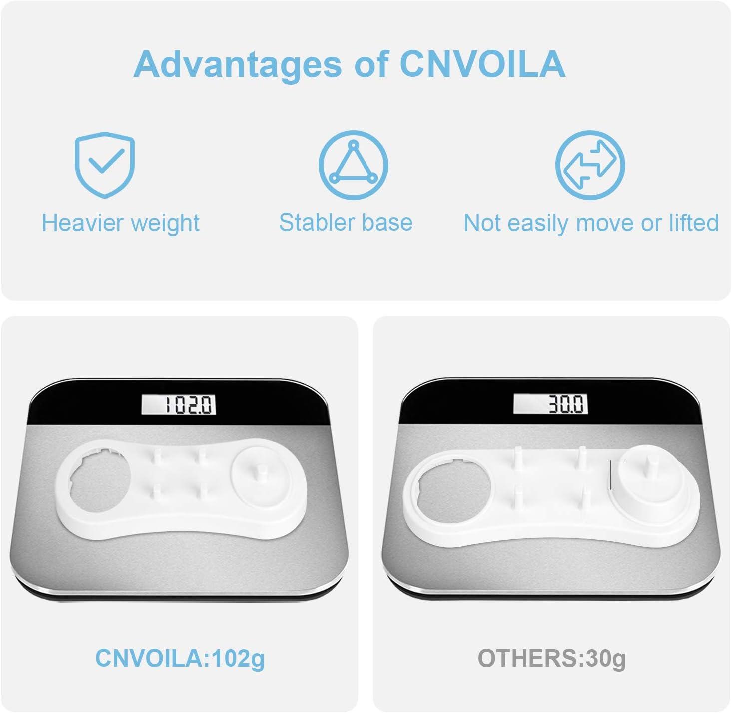 CNVOILA Anotion Elektrische Zahnb/ürstenhalter f/ür Oral B /& Oral B PRO Serie Wei/ß