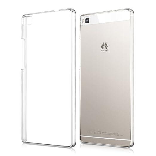 155 opinioni per kwmobile Cover per Huawei P8- Custodia trasparente per cellulare- Back cover