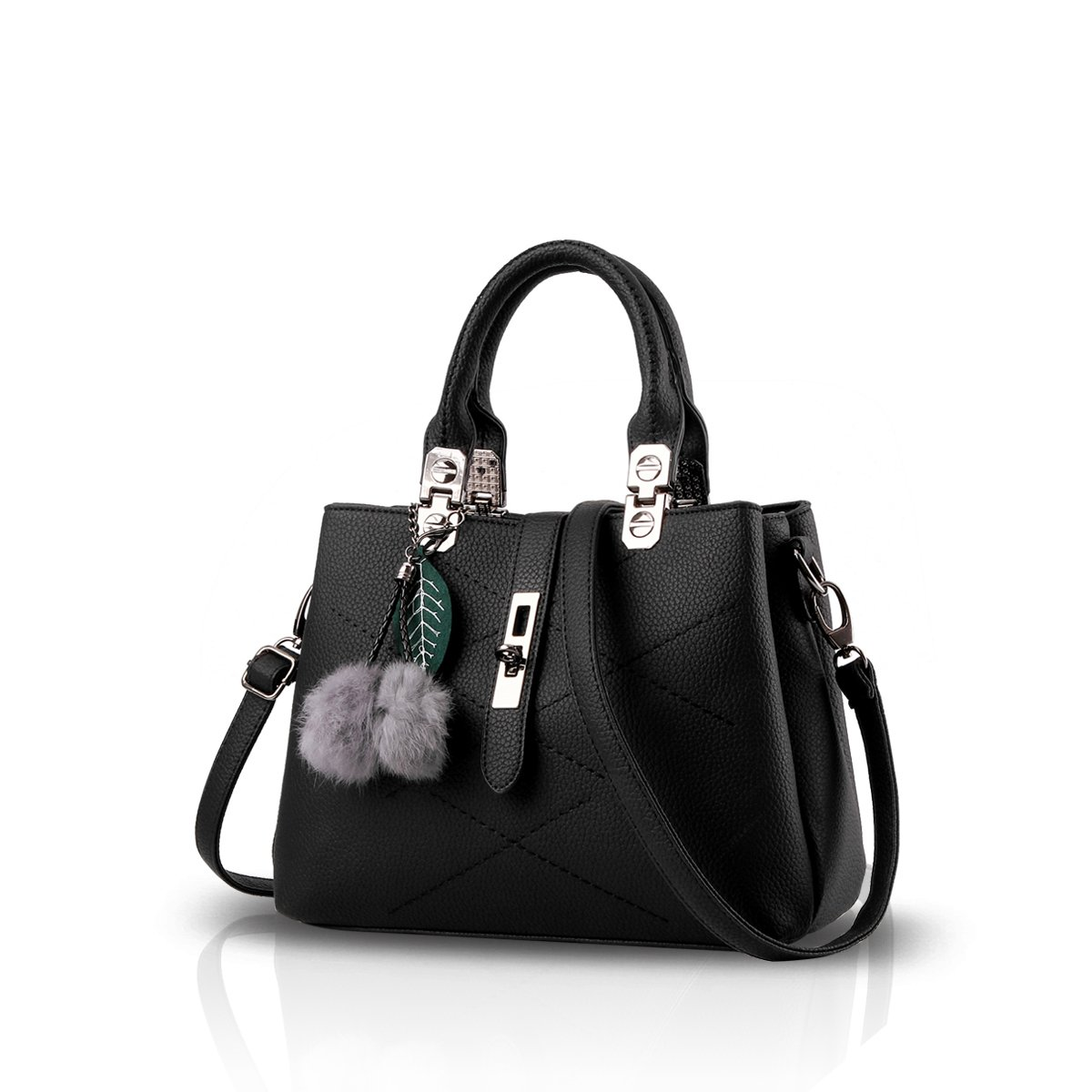 Nicole Doris 2019 New Wave Women Handbags Messenger Bag Ladies Handbag  Female Bag Handbags for Women Black. by NICOLE   DORIS 49ef5b23773e2