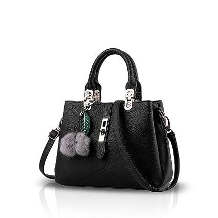 059b431b2c78 Nicole&Doris 2019 new wave Women handbags Messenger bag ladies handbag  female bag handbags for women Black: Amazon.co.uk: Luggage