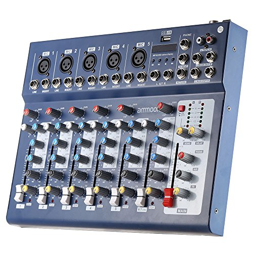usb mixer 48v phantom power - 7