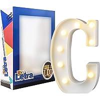 DON LETRA Letras Luminosas Decorativas con Luces LED, Letras del Alfabeto A-Z, Altura de…