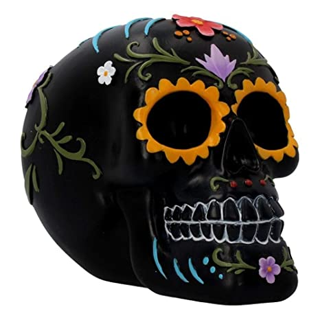 Amazon.com: Nemesis Floral Festivities - Calavera (6.0 in ...