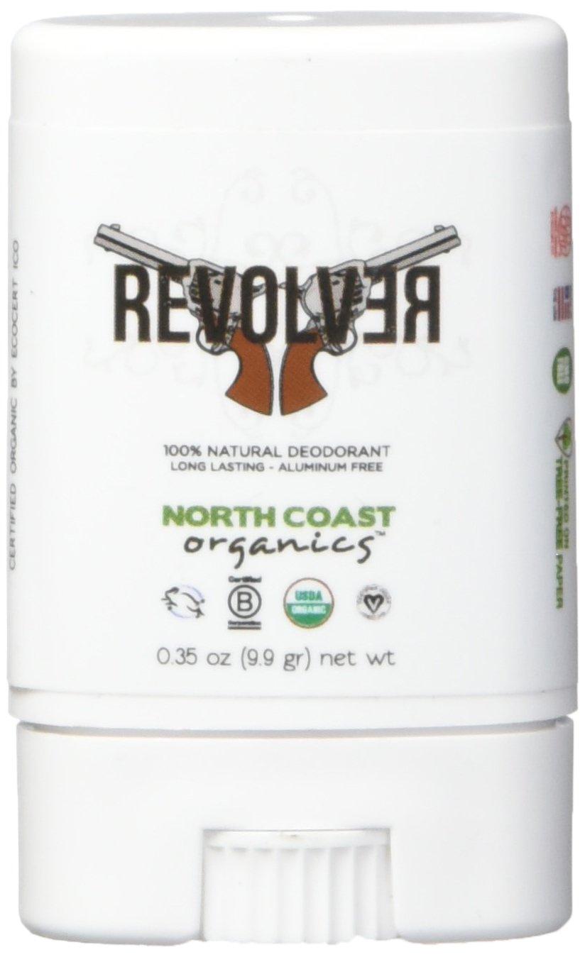 North Coast Organics 2002 Revolver organic deodorant (cedarwood), 0.35 Ounce