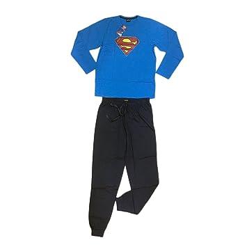 Warner pijama Cálido Algodón Superman, COME FOTO