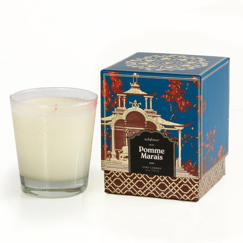 Seda France Jardins Du Boxed Candle, Pomme Marais, 10 Ounce