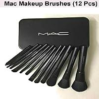 MAC COSMETIC MAKEUP BRUSH SET WITH NEW STORAGE BOX - LIMITED EDITION (12Pcs Set)