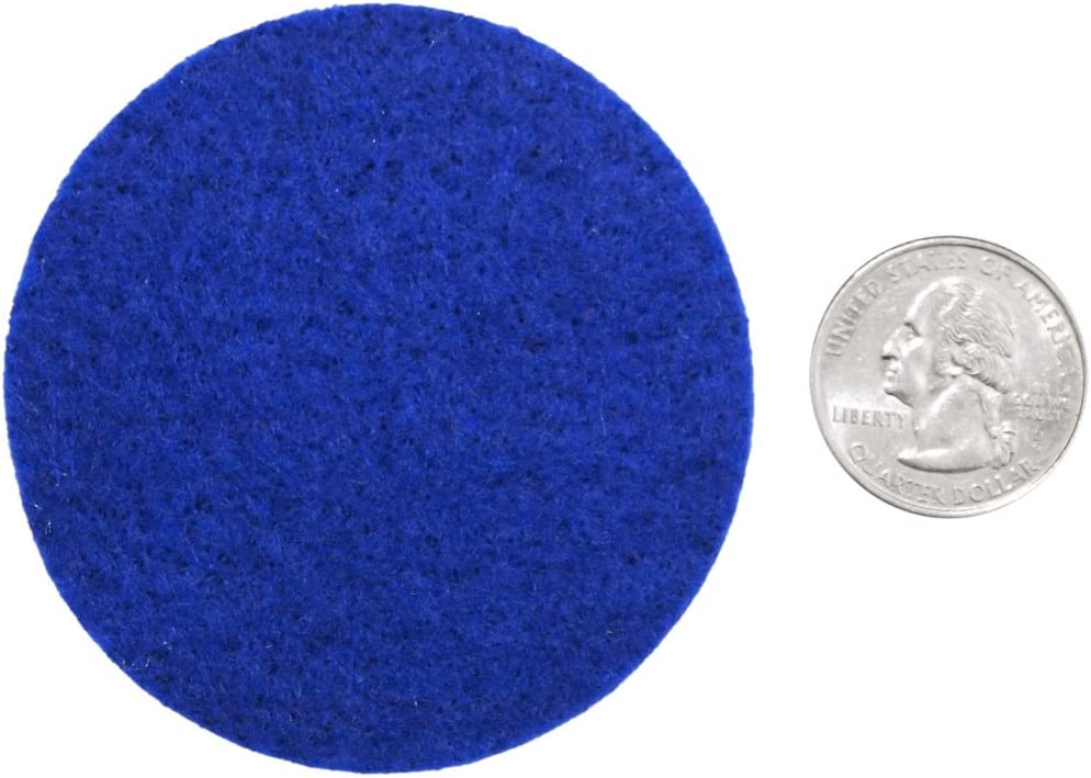 Playfully Ever After 2.5 Inch Blue 46pc Felt Circles