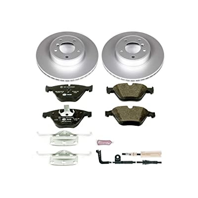 Power Stop ESK2110 Front Euro-Stop Brake Kit BMW: Automotive
