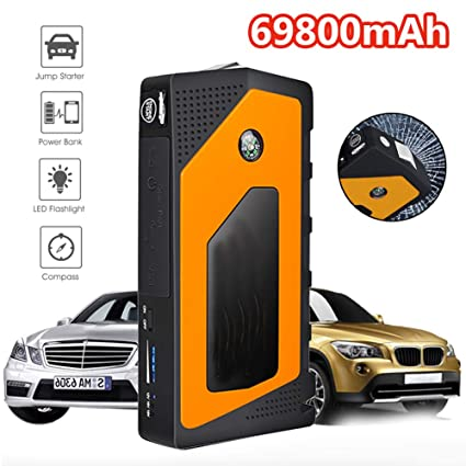 Car Jump Starter Emergency, 69800Mah 12V Dispositivo de ...