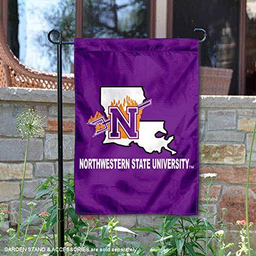 Northwestern State University Garden Flag and Yard Banner ()