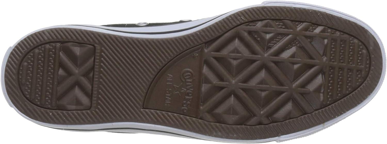 Converse Chuck Taylor All Star Season Hi Sneakers voor volwassenen, uniseks Zwart Wit pLew6frE
