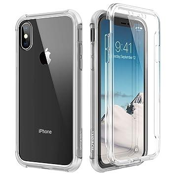coque iphone xs transparente 360