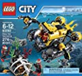 LEGO City Deep Sea Explorers 60092 Submarine Building Kit