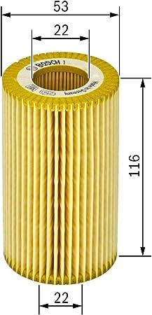 BOSCH Oil Filter Insert Fits MERCEDES Vaneo A B-Class Vaneo 1.7-2L 1998-2012