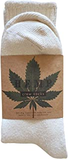 product image for Hemp & Organic Cotton Blend Crew Socks - Made in USA