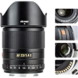 VILTROX 23mm f/1.4 Auto Focus E-Mount Lens Compatible for Sony,Wide Angle Large Aperture APS-C Lens for Sony E-Mount Cameras