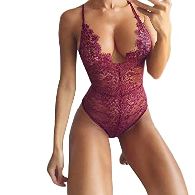 Luckycat Lencería Erotica de Mujer, Mujeres Sexy Ropa de Dormir Moda Mujeres Sexy Ropa Interior