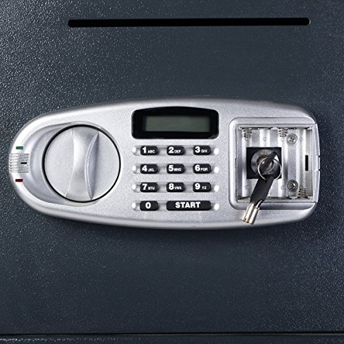 Giantex Double Door Digital Safe Depository Drop Box Safes Cash Office Security Lock by Giantex (Image #3)