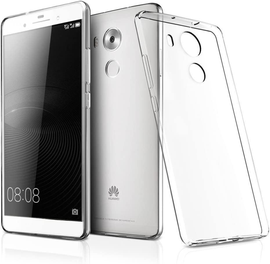 REY Funda Carcasa Gel Transparente para Huawei Mate 8, Ultra Fina ...