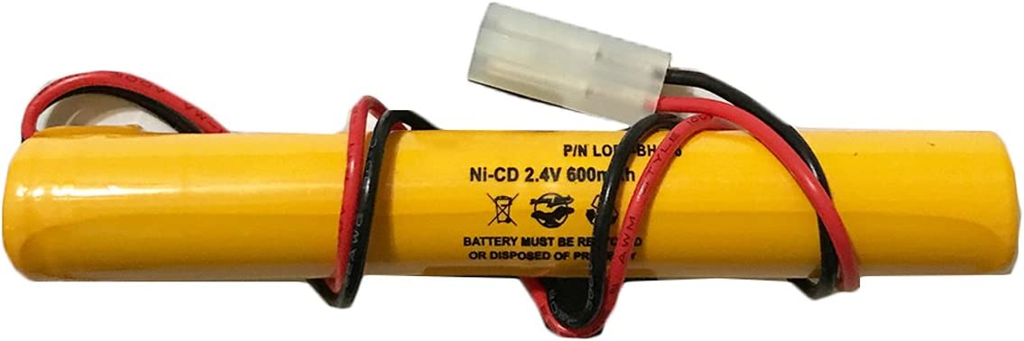 211003-2 Unitech Lithonia 2110032 OSI OSA017AA 2.4v 600mAh Ni-CD Battery Pack Replacement for Exit Sign Emergency Light