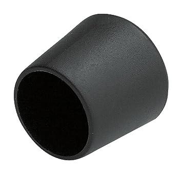 color negro Taco protector para patas de silla Young schwinn 4 unidades, 25 mm de di/ámetro, pl/ástico
