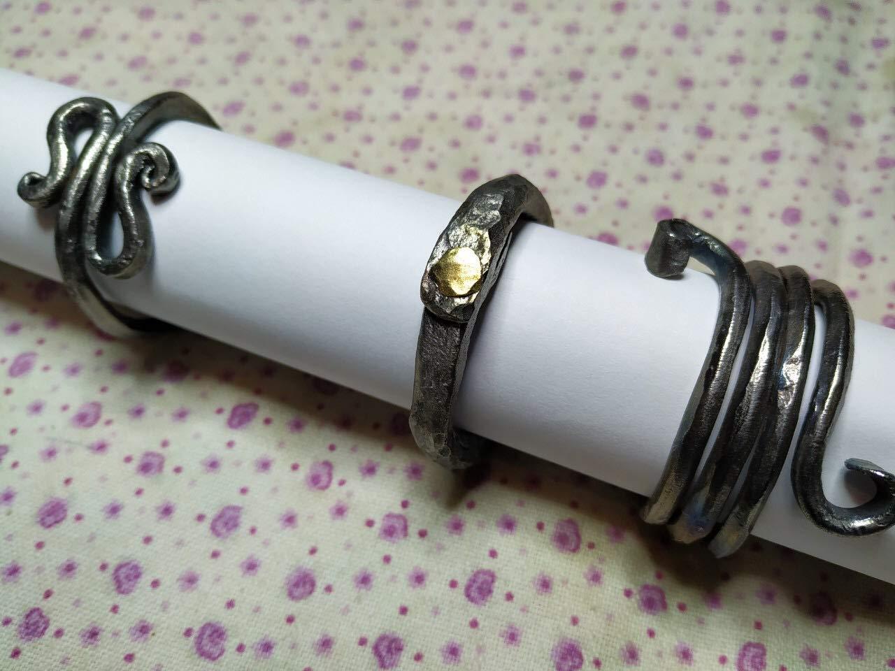 kitchen decor napkin rings set Christmas gift Wedding napkin rings metal napkin rings Christmas gift ideas Christmas napkin rings