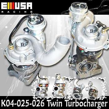 TurboCharger fit 99-04 Audi A6 Quattro 2.7L K04 Upgrade Twin Turbo Engine 00