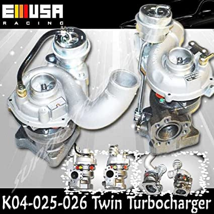TurboCharger fit 99-04 Audi A6 Quattro 2.7L K04 Upgrade Twin Turbo Engine 00