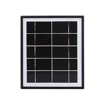 Anyutai Célula Solar portátil del Panel Solar 5V 5.5W para ...