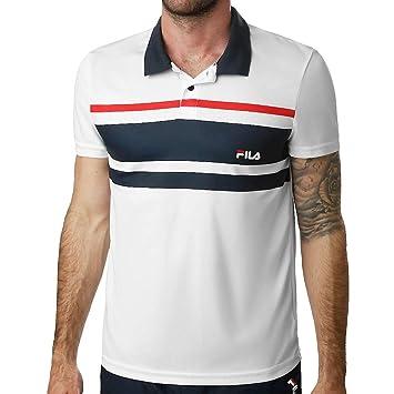 Fila - Tony Uomo Tennis Polo - Bianco, M: Amazon.it: Sport e ...