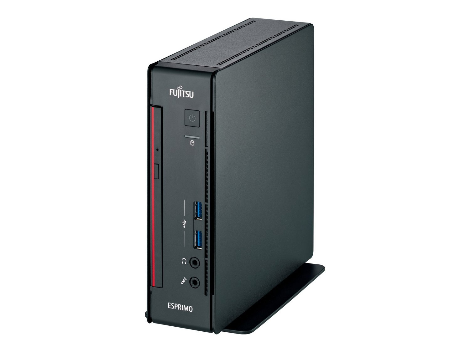 Fujitsu ESPRIMO Q556/2 2.2GHz i5-6400T Mini PC Negro Mini PC - Ordenador de sobremesa (2,2 GHz, 6ª Generación de procesadores Intel® Core™ i5, 8 GB, 256 GB, DVD Super Multi, Windows 10 Pro)