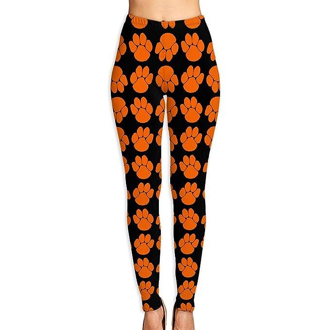 Amazon.com: Crazy Tiger Paws Womens Yoga Capri Pants Active ...