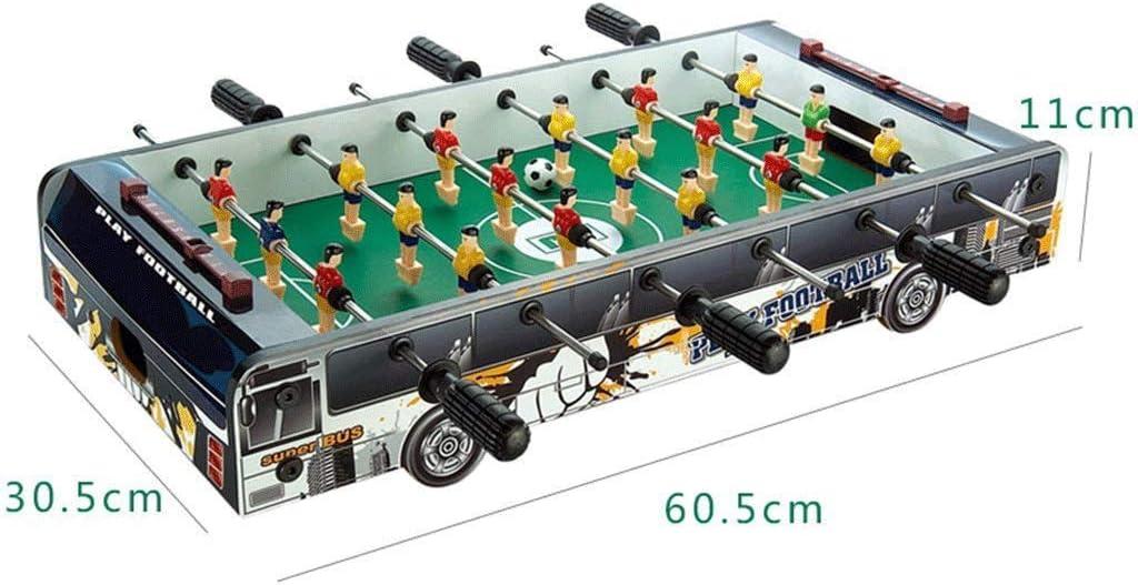 JWDYA Juego de futbolín, for niños y Adultos, Juego de fútbol de Mesa, fútbol, Aspecto Madera: Amazon.es: Hogar