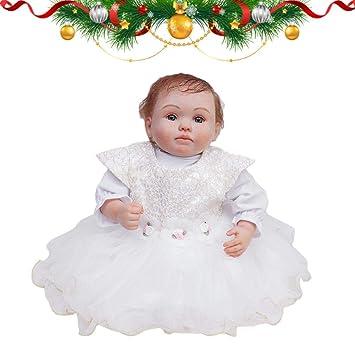 Amazon.com: Muñecas Reborn realista hecho a mano con aspecto ...