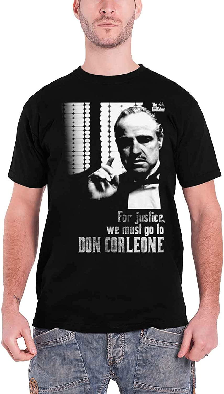 Officially Licensed Merchandise Godfather For Justice T Shirt Black Bekleidung