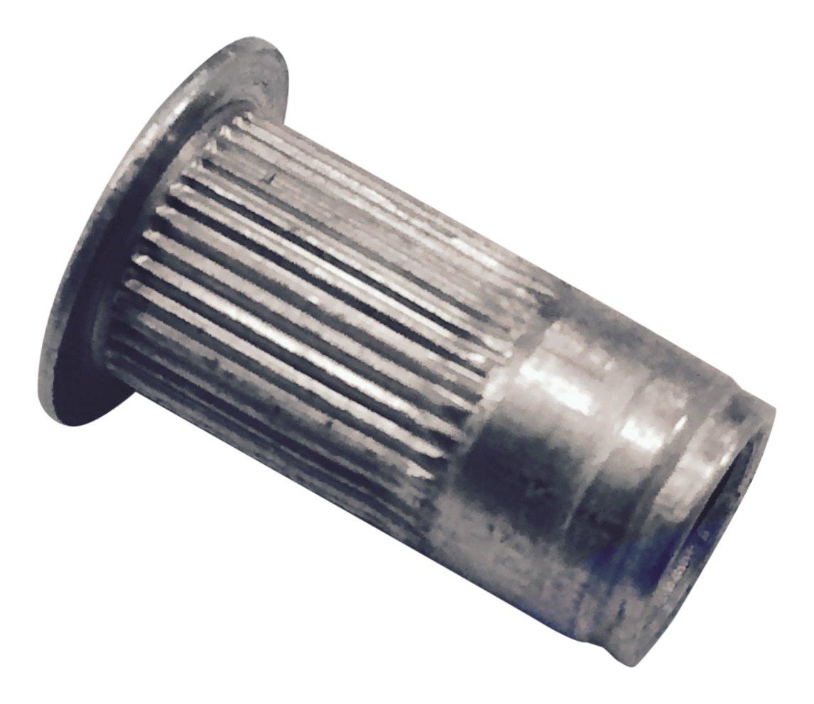AVK Industrial ALA1-420-260 AL-Series Insert, Thread Size 1/4-20, Silver