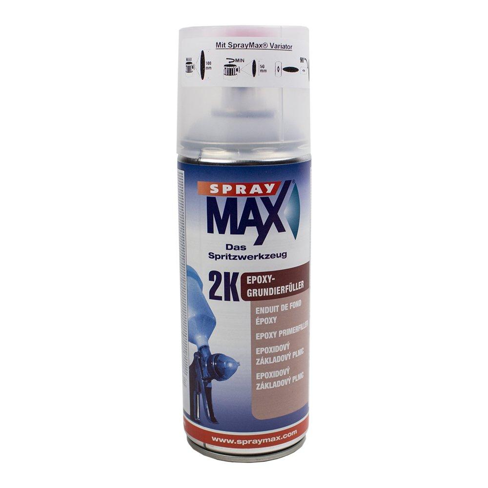 Spray max 2 k epoxy grundierfü ller 400 ml (gris)