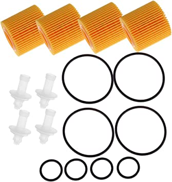 5 Oil Filter For Toyota Corolla C-HR Matrix Prius Plug-In Prius V xD 04152-YZZA6