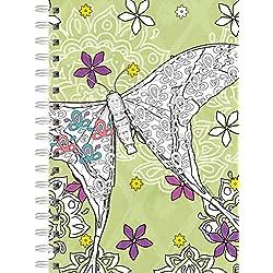 LANG Garden Of Life Journal - Spiral Coloring