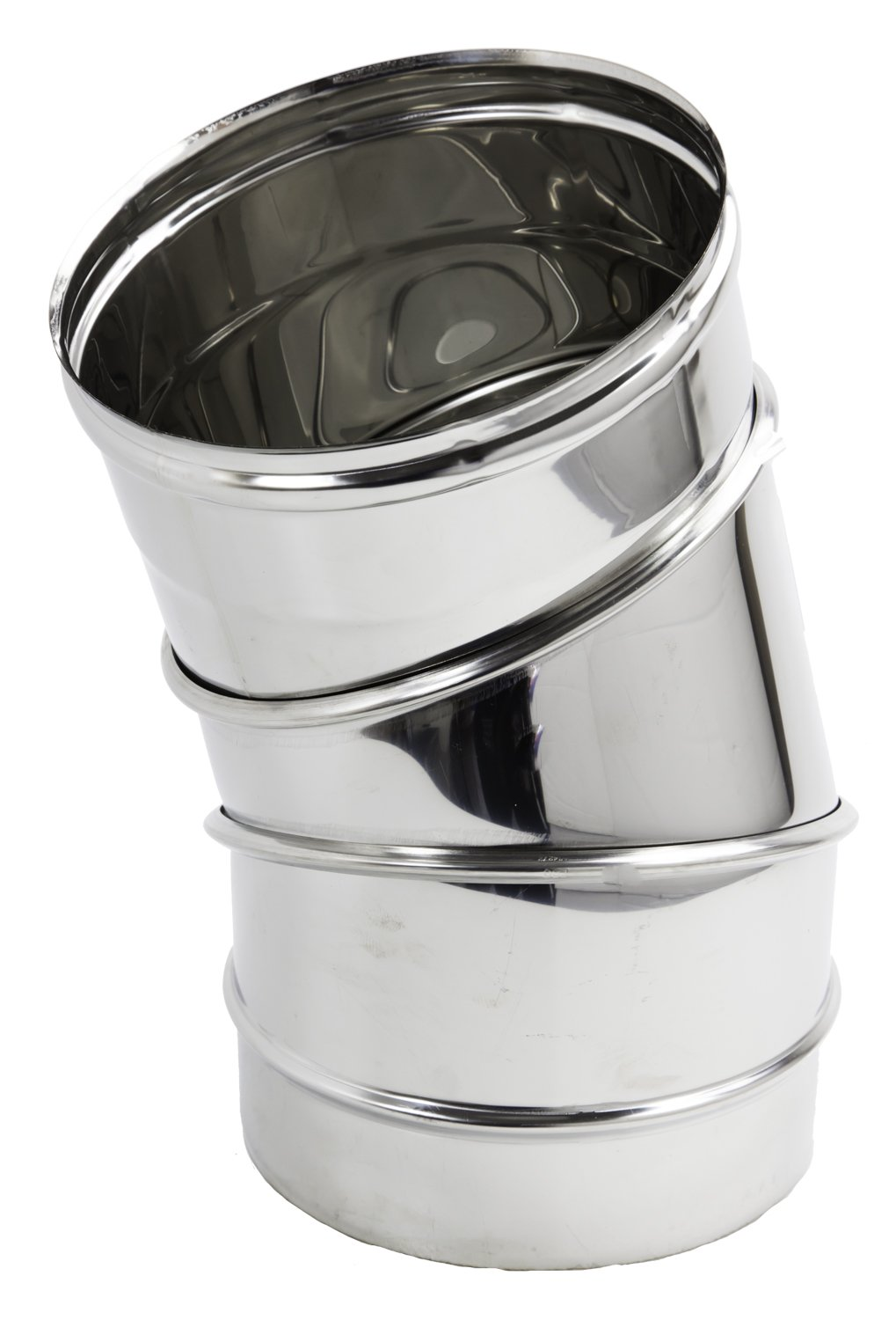 Stainless Steel Flue Pipe Elbow 15°