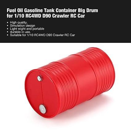 Footprintse Accesorios para Coche de RC;Accesorios para Coches RC Tanque Grande de la Gasolina