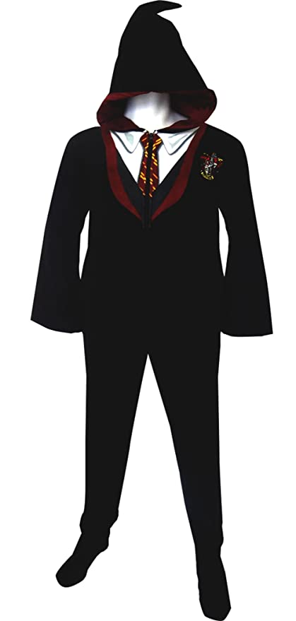 Harry Potter Gryffindor House Uniform Hooded Pajamas