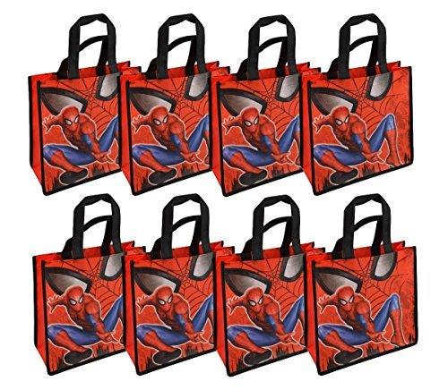 8-Pack Marvel Spider-Man Reusable 10