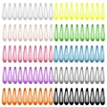 100pcs 2 Inch Snap Hair Clips No Slip Metal Hair Clip Barrettes for Girls Toddlers Kids Women Accessories 50 Pairs