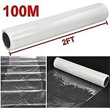 Popamazing Platinum Carpet Protector Film / Self Adhesive 600mm x 100M